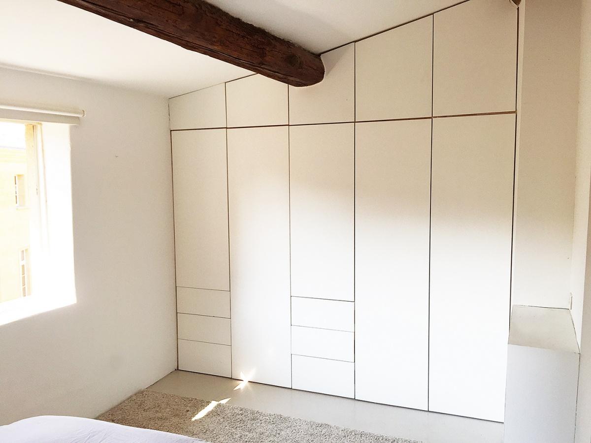 Création d'un Duplex dans le centre historique d'Aix : Chambre