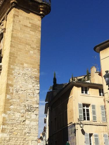Création d'un Duplex dans le centre historique d'Aix : Immeuble 1