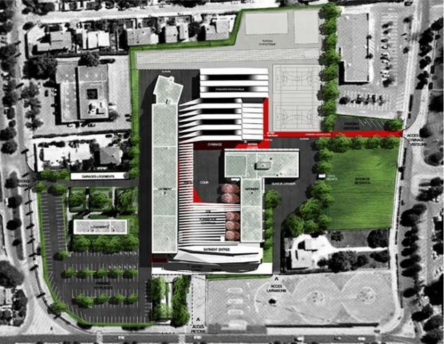 Extension restructuration du lycée M. Genevoix à Marignane (13)-2007 : 24-LMG-01