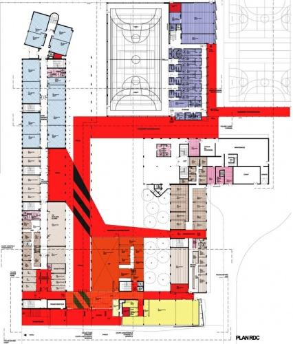 Extension restructuration du lycée M. Genevoix à Marignane (13)-2007 : 24-LMG-02