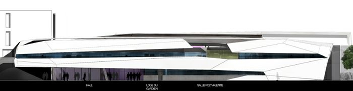 Extension restructuration du lycée M. Genevoix à Marignane (13)-2007 : 24-LMG-07