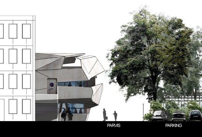 Extension restructuration du lycée M. Genevoix à Marignane (13)-2007 : 24-LMG-08