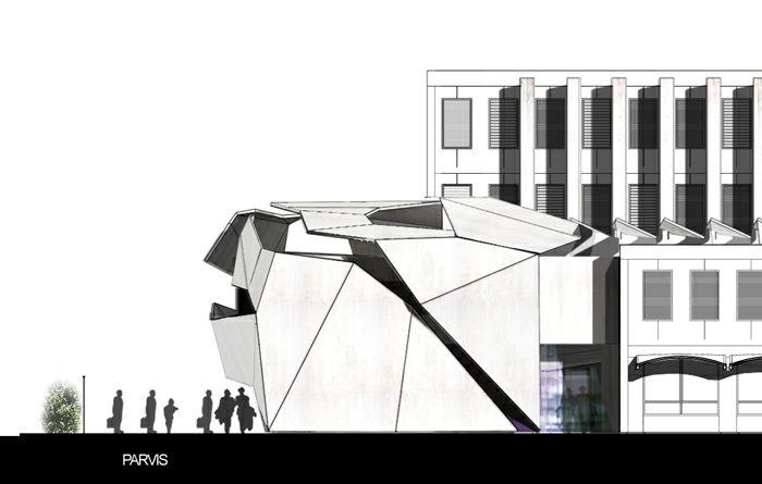 Extension restructuration du lycée M. Genevoix à Marignane (13)-2007 : 24-LMG-09