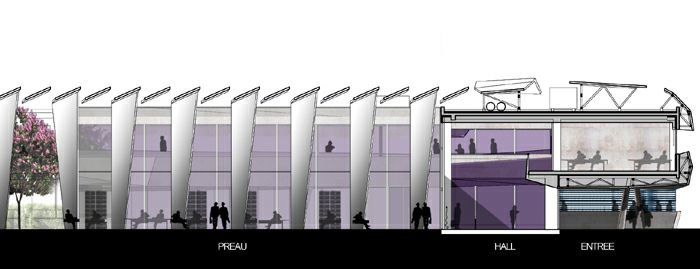 Extension restructuration du lycée M. Genevoix à Marignane (13)-2007 : 24-LMG-16