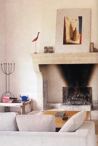 Maison contemporaine à Eygalières : Salon02