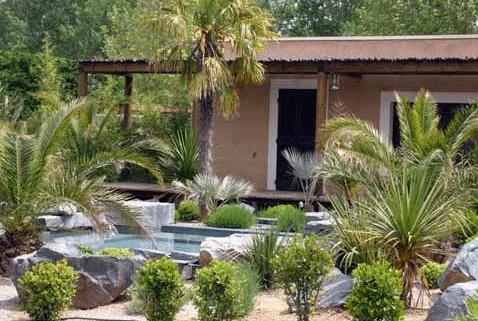 Maison contemporaine en Provence : Jacuzzi