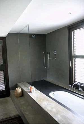 Maison contemporaine en Provence : Salle de bain