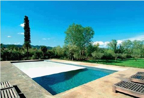 Maison contemporaine en Provence : Piscine