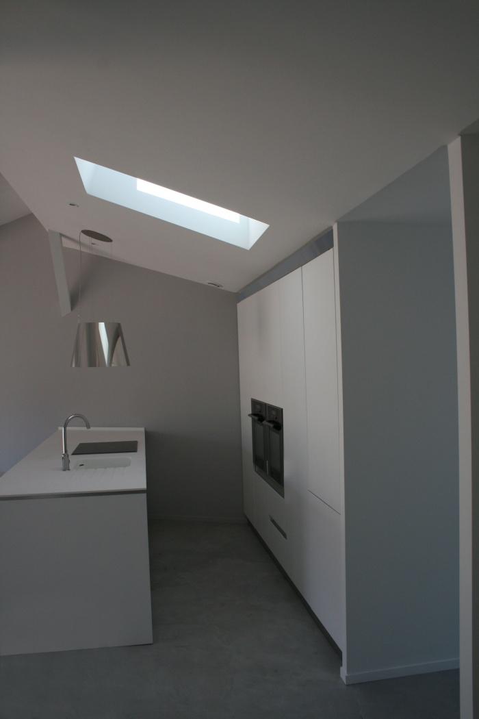 aménagement d'un penthouse à Marseille : vue de la cuisine après travaux