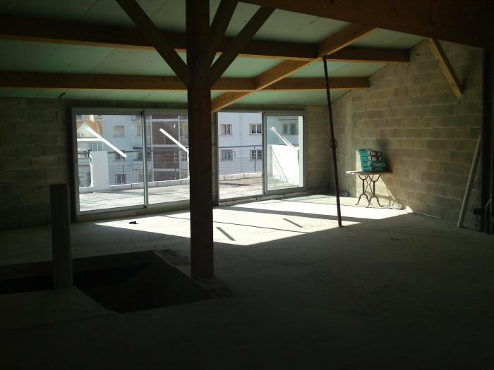 aménagement d'un penthouse à Marseille : avant les travaux
