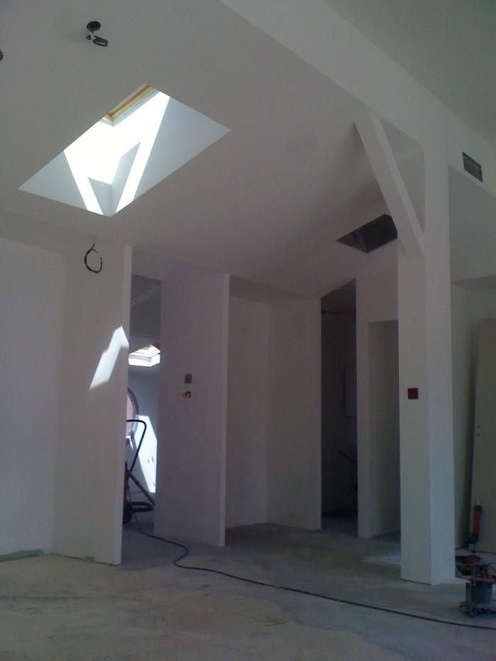 aménagement d'un penthouse à Marseille : ajout d'un puit de lumière
