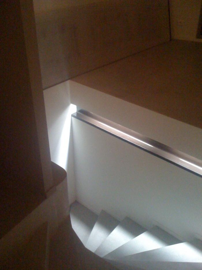aménagement d'un penthouse à Marseille : l'escalier