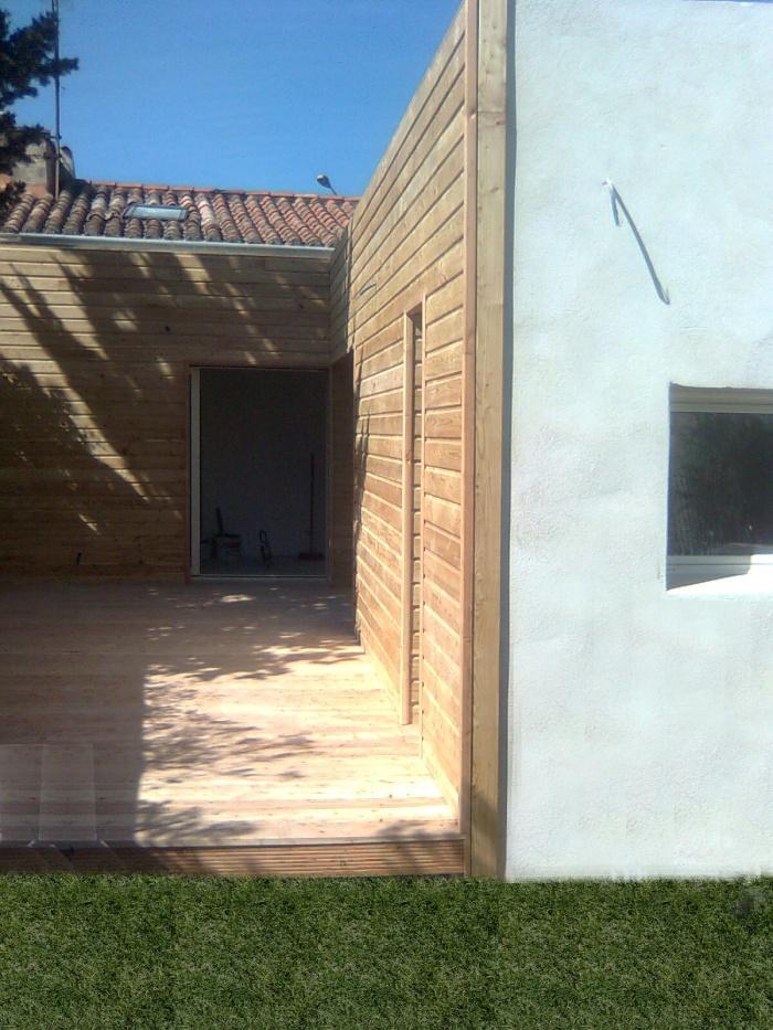 Extension d'une maison à mazargues