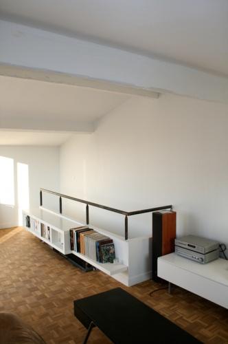 surélévation d'une maison à Marseille : salon 2