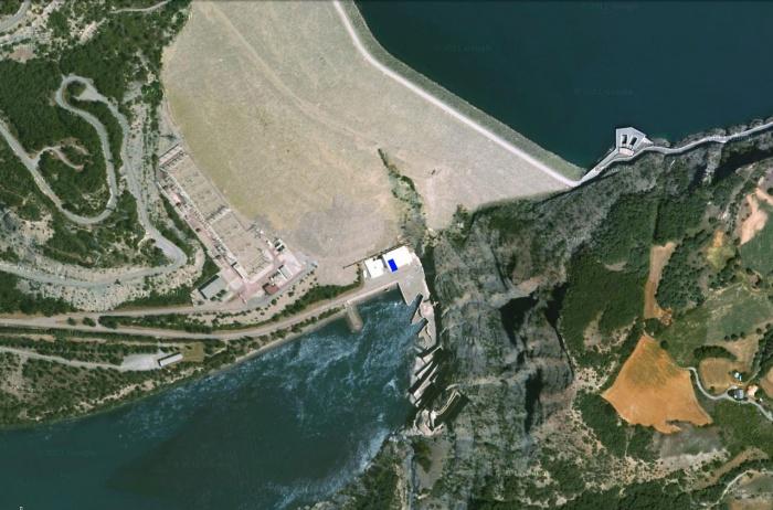 salle de réunion au barrage de Serre-Ponçon (04) - 2011 : image_projet_mini_44080