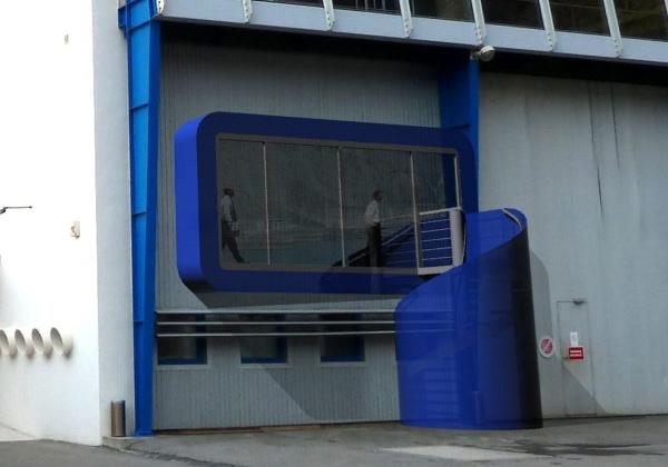 salle de réunion au barrage de Serre-Ponçon (04) - 2011 : image_projet_mini_44083