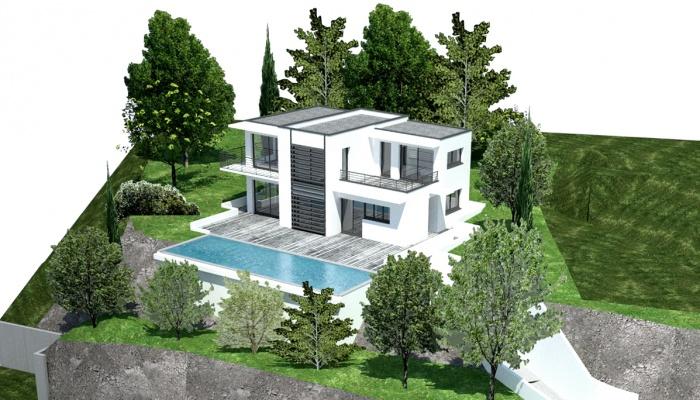 Villa LA JOLLA : RECADRE 1