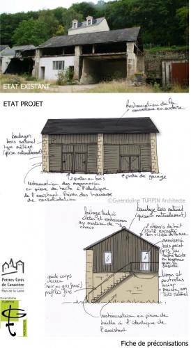 Réhabilitation de hangars en garage et atelier