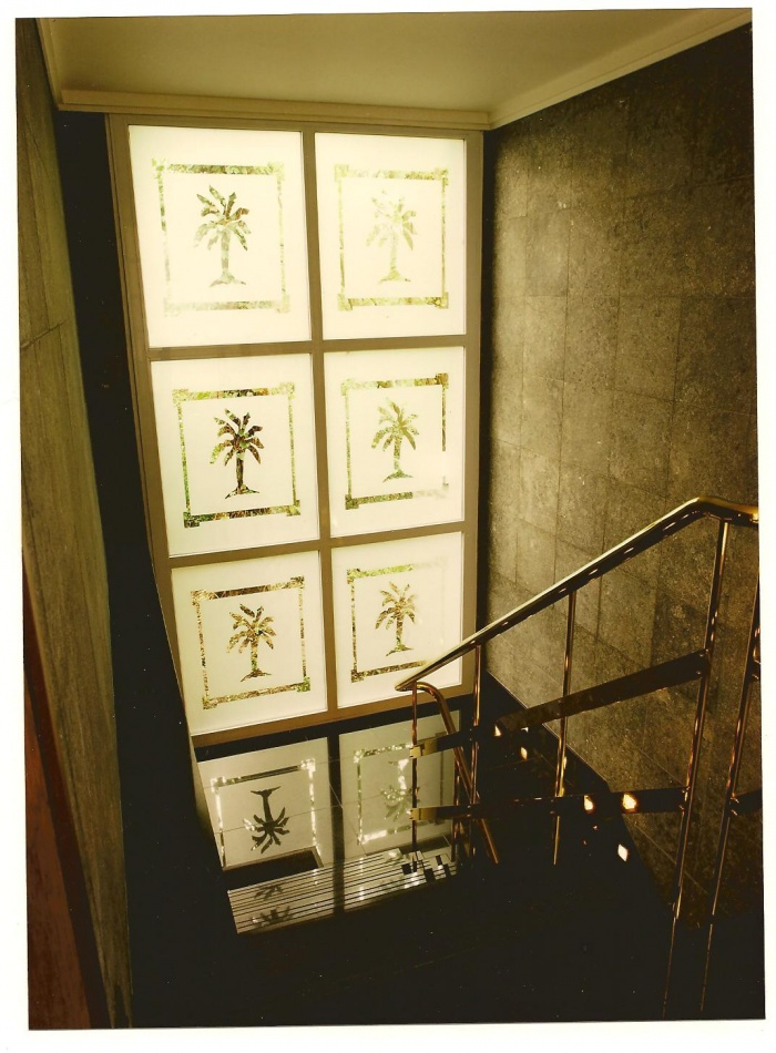 siat group : Cage d'escalier