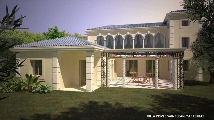 Rénovation maisons individuelles et création d'un Pool House : chab 3