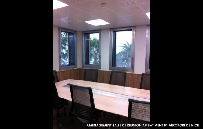 Batiment B4 - Aéroport de Nice : hierro project architecte dplg nice maitrise oeuvre rehabilitation batiment 4 aeroport de nice 3