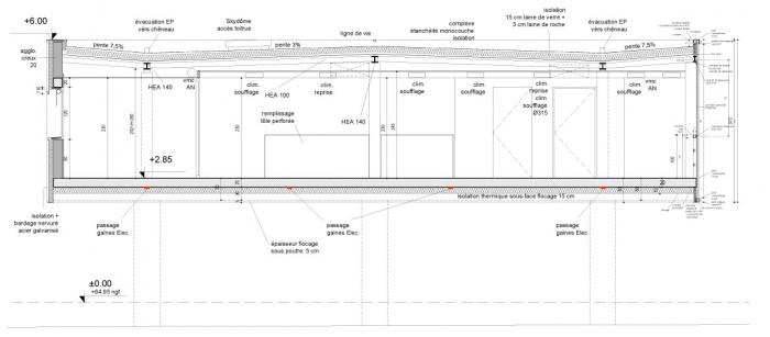 Bureaux à Salon de Provence (13) - Tranche 1 - 2014 : 03-CP