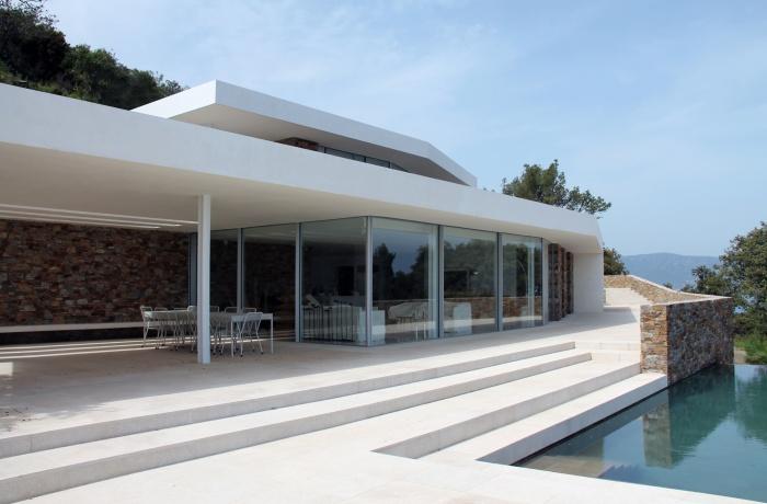 Villa BB CAP BENAT : vue terrasse