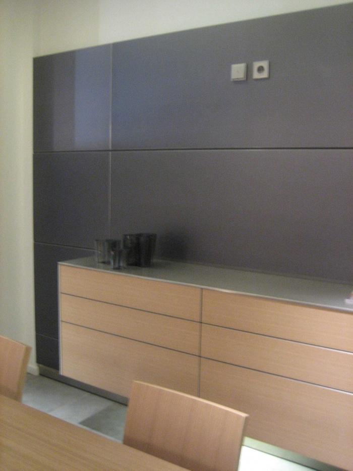 Réaménagement du showroom de cuisines : image