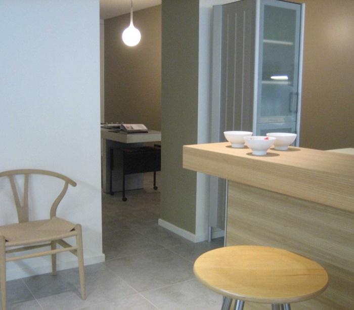 Réaménagement du showroom de cuisines : BUREAU 2