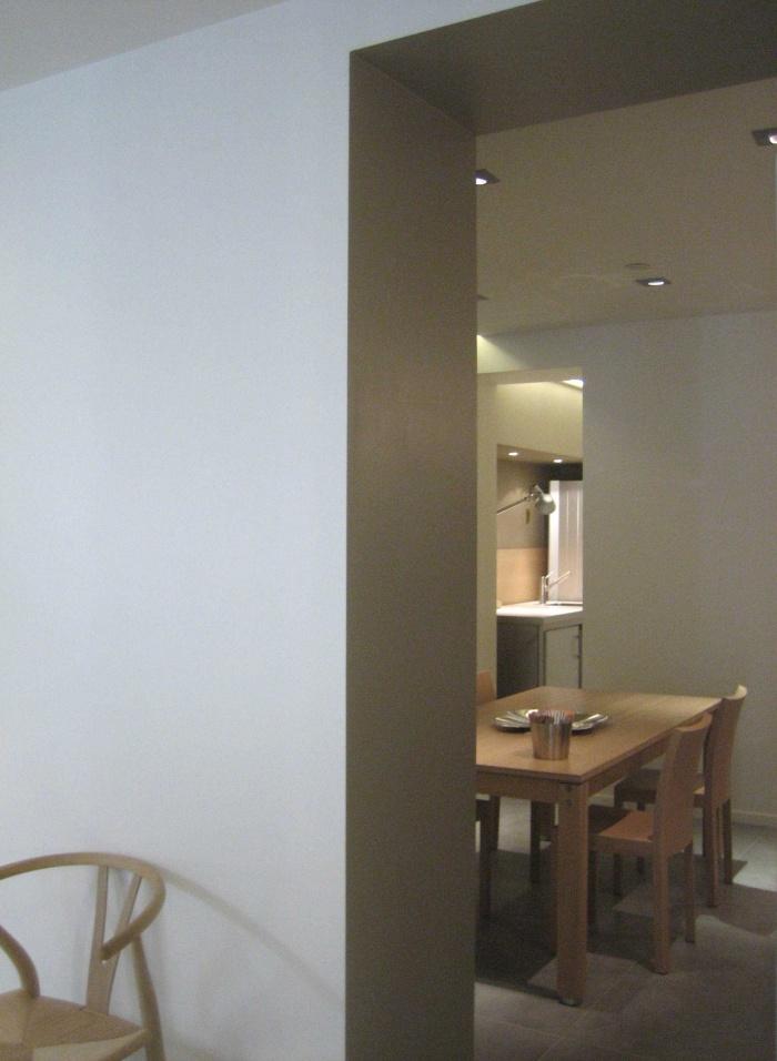 Réaménagement du showroom de cuisines : SALLE-A-MANGER
